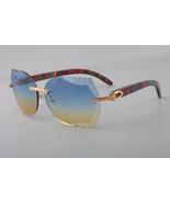 Fashion New And Unique Design Sunglasses Men Engraving Lens Carter Glass... - $300.00