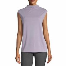 Worthington Women's Sleeveless Mock Neck Top XX-LARGE Iced Lavender Soft... - $19.79