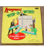 ANAGRAMS WIN A WORD & LETTER GAME VINTAGE 1954 WHITMAN COMPLETE EXCELLENT - $20.00