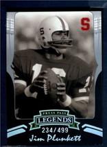 2006 Press Pass Legends Silver  #S83 Jim Plunkett              ID:119294 - $1.97