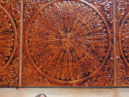"""Victorian Feather Stepping Stone or Tile Mold 24""""x24""""x2.75""""- #SS-2424A Fast Ship image 5"""