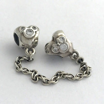 Authentic Pandora Disney Heart of Mickey Safety Chain, 791704CZ-05, New - $65.83