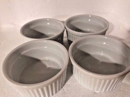 Norpro Porcelain 3-Ounce Ramekins, Set of 4 Microwave Oven and Dishwashe... - €12,14 EUR