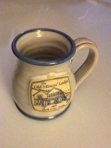 NEW Pottery Cup mug Old miner's Lodge B&B Bed breakfast Park city Utah - $32.79