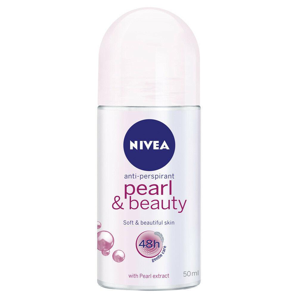 Nivea Female Pearl and Beauty Roll-On 50ml women deodorants