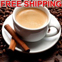 COFFEE CINNAMON & VANILLA Roll On Fragrance Oil VEGAN & CRUELTY FREE image 1