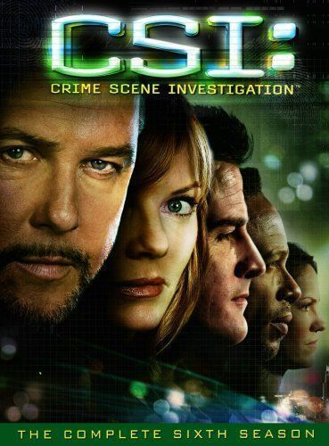 CSI CRIME SCENE INVESTIGATION Complete Sixth 6th SEASON 6 Series DVD Set TV Six
