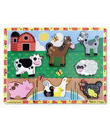 Melissa and Doug Farm Chunky Puzzle  - 8 Pieces  - $10.00