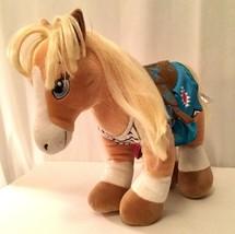 My Little Pony Build A Bear Western Plush Stuffed Animal Saddle Brush BA... - $37.39