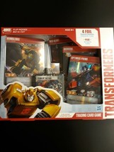 Transformers Trading Card Game New In Box 4 Foil 40 Battle Cards  - $13.99