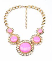 Fashion Pink Choker Necklace - $6.90