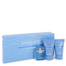Versace Man by Versace Gift Set -- .17 oz Mini EDT (Eau De Fraiche) + 0.... - $21.00