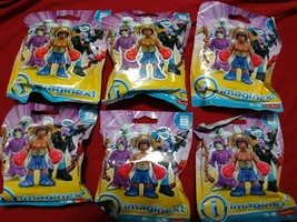 Imaginext Series 9 Blind Bag Complete Set of 6 New Includes Invisible Ma... - $38.70