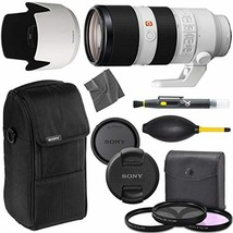 Sony FE 70-200mm f/2.8 GM OSS: Lens (SEL70200GM) + AOM Pro Starter Bundle Kit -  - $4,158.33