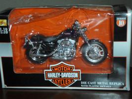 MAISTO Harley Davidson 1:18 Die Cast Metal Replica Series 10 1200S Sport... - $19.99