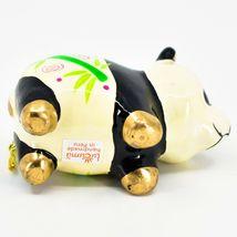 Handcrafted Painted Ceramic Panda Bear Confetti Ornament Made in Peru image 5