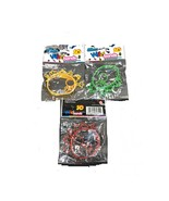 3D Wild Rubber Wrist Bands - Contains 3 pieces in a Packet - $4.90