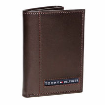 Tommy Hilfiger Men's Premium Leather Credit Card ID Wallet Trifold 31TL11X033 image 9