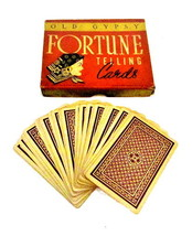 "1937 Whitman ""Old Gypsy Fortune Telling Cards"" Game - $57.95"