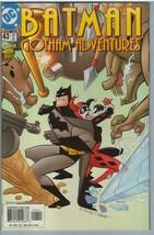 Batman Gotham Adventures 43 Dec 2001 NM- (9.2) - $37.52