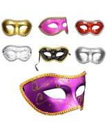 Unisex Masquerade Ball Dance Party Fancy Dress Costume Plastic Prom Fash... - $7.95