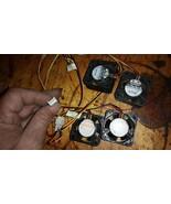 4 pcs brushless 24vdc mini cooling fans sanyo denki 109p042h6d04  - $40.00