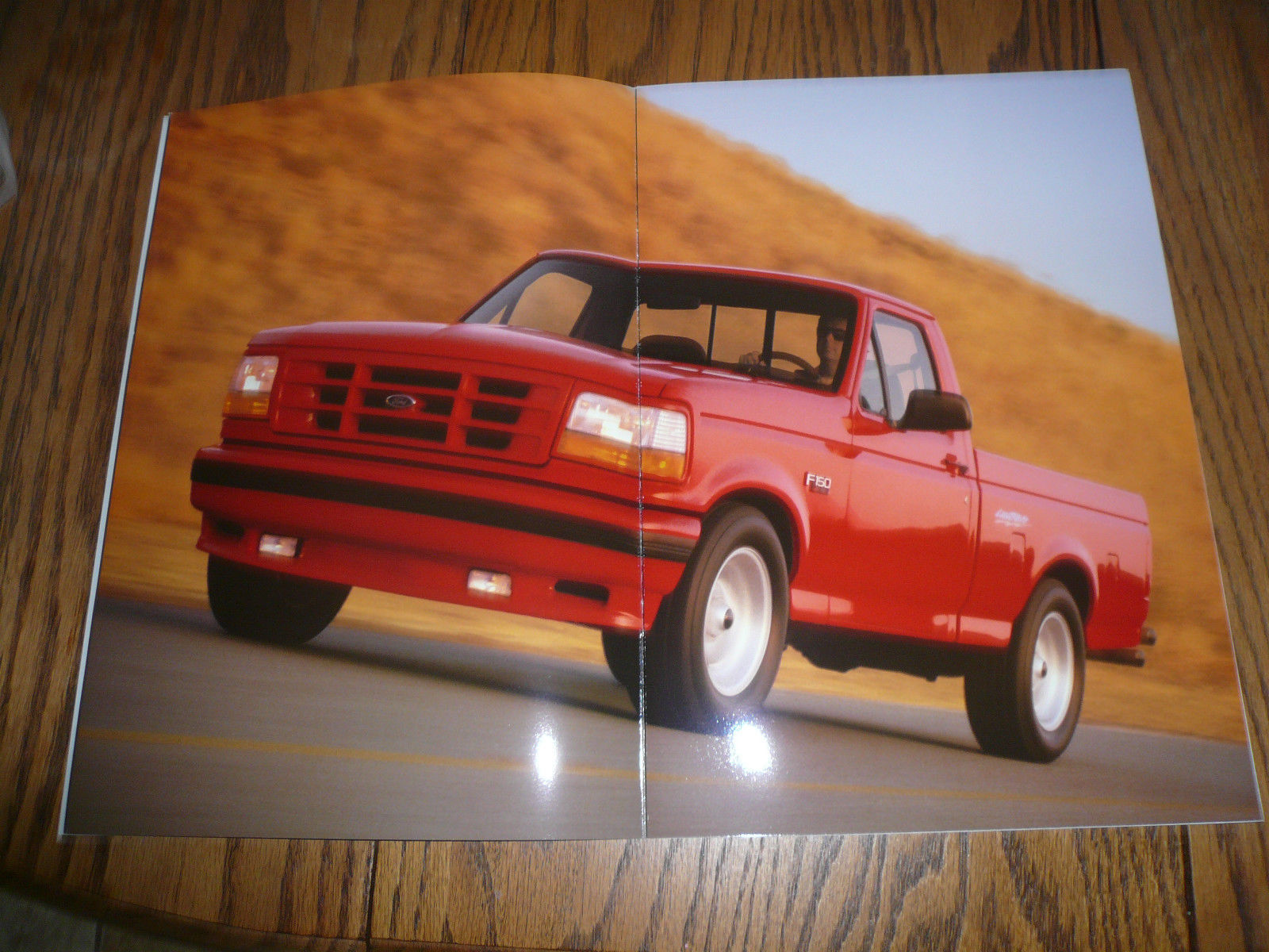 ... 1993 Ford F-150 Lightning Sales Brochure - High Performance - Two for  One ...