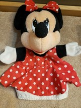 Disney Minnie Mouse Hand Puppet by Mattel dated 1993 - $14.84