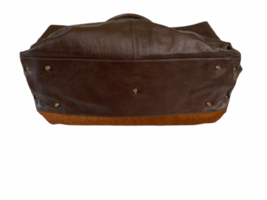 Leather Suede Cowhide Handcrafted Lot - Belt Handbag Bag Purse Clutch Stocking image 8