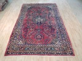 7x11 Persian Fantastic Design Handmade Semi-Antique Wool Rug - $769.45