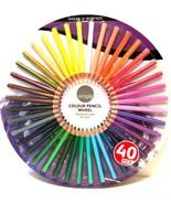Simply Color Colour Pencil Wheel 40 Colored Pencils Easy Grip by Daler R... - $17.82