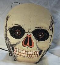 Bethany Lowe Halloween Vintage Skull Lantern image 1