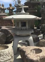 Kaku Yukimi Gata Ishidōrō, Japanese Stone Lantern - YO01010228 - $2,935.02