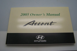 2005 hyundai accent owners manual new original - $14.99