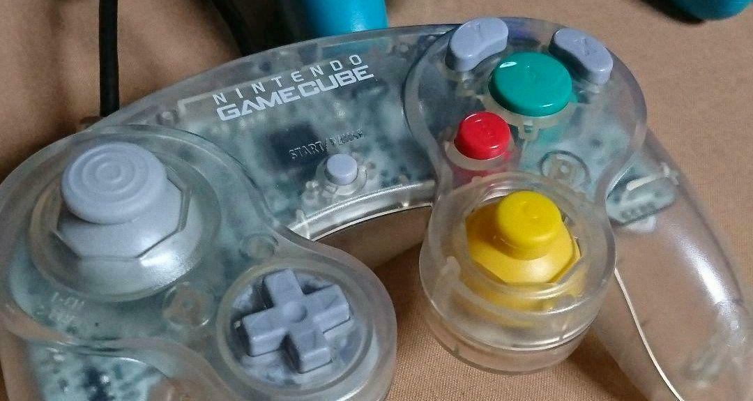 [Excellent Condition+++] Nintendo Gamecube Controller Clear Official genuine F/S