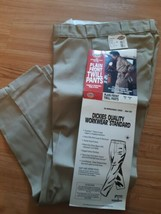 Dickies 874A Work Pants Plain Front Twill Classic Fit Tan 30 x 30 - $29.65