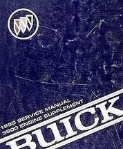 1990 Buick Real Motor 3800 Fábrica Servicio Tienda Reparar Manual Suplem... - $5.88