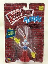 "Who Framed Roger Rabbit Flexie Roger 6"" Action Figure Sealed Vintage 198... - $35.59"