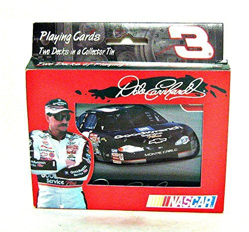 Dale Earnhardt Nascar 2-decks Playing Cards