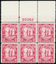 683, Mint NH VF Top Plate Block of Six Stamps -- Stuart Katz - $35.00