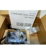 Nikon COOLPIX S610 10.0 MP Camera - SLATE BLACK -in original box no cha... - $38.68