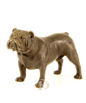 English Bulldog, Bulldog, Bronze Sculpture signed * Free Air Shipping - $99.00