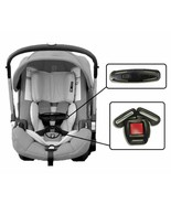 Doona Infant Car Seat Stroller Baby Harness Chest Clip & Buckle Set Repl... - $19.79