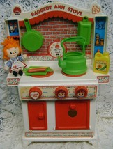 Raggedy Ann~Play Stove~Andy~Camel~Hasbro~Vintage 1978 Toy~Original Acces... - $28.04
