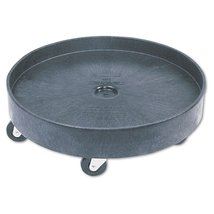 Rubbermaid Commercial 60 Gallon Brute Container Universal Drum Dolly - $122.00
