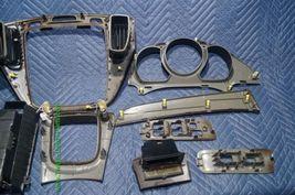01-07 Toyota Highlander Woodgrain Dash Trim Kit Vents Console 8pc image 9