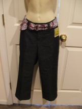 Nwt Lee - Womens Natural Fit Capri - Slims You - Indigo Rinse * Size 8 Medium - $27.71