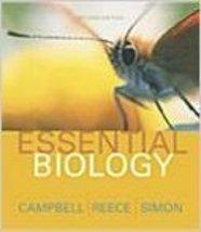 Essential Biology [Paperback] Campbell Reece Simon - $2.98