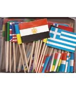 Foreign world flag toothpicks thumbtall