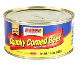 Martin Purefoods, Chunky Corned Beef, 11.5 oz / 326 Gram - $15.59+